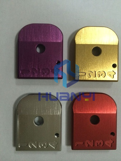 Assorted anodize