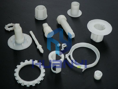 Assorted small plastic parts